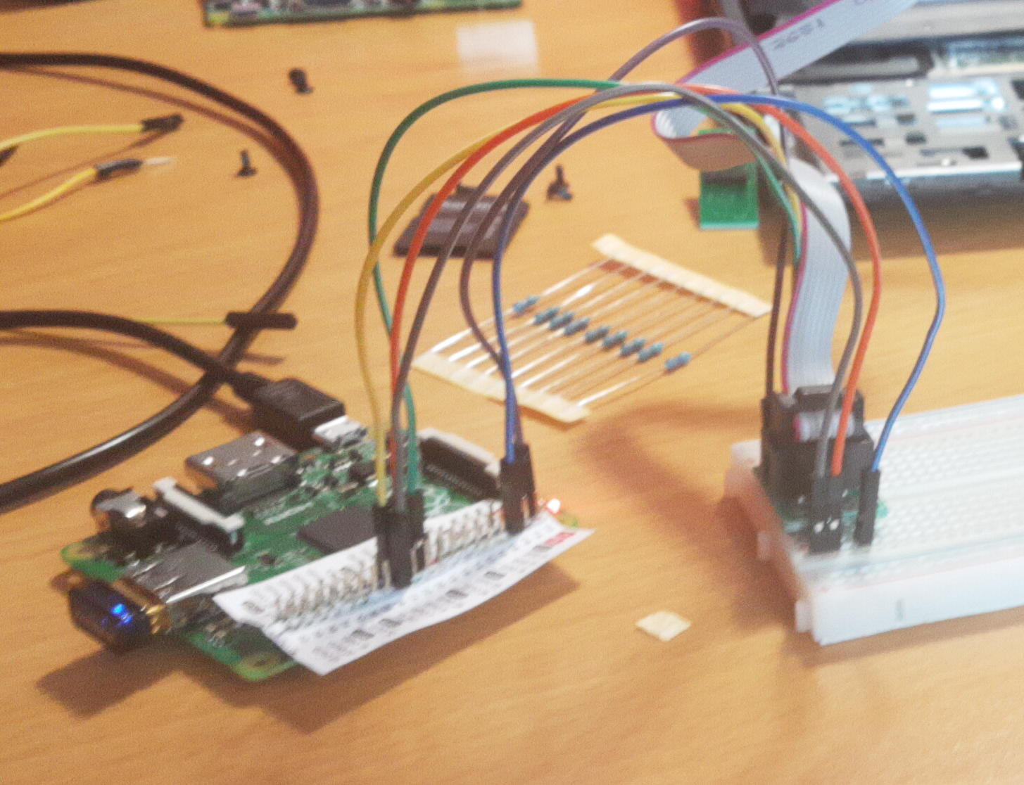 SPI Programmer with a Raspberry Pi A+